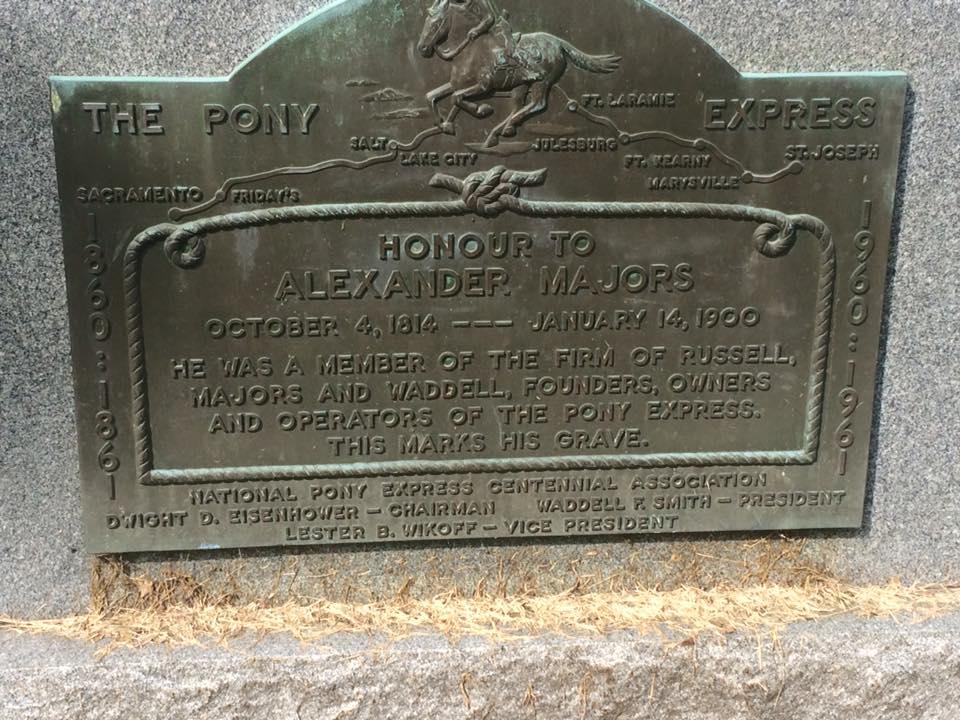 Majors grave marker