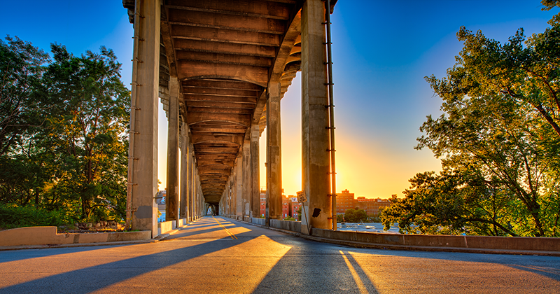 12th Street Bridge by David Arbogast
