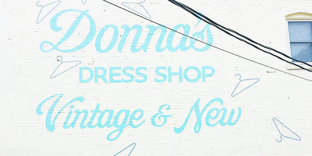 Donna's Dress Shop Wall