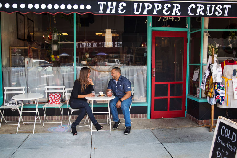 Upper Crust couple