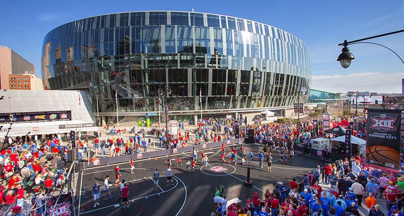 Big 12 Fan Fest at Sprint Center in Kansas City