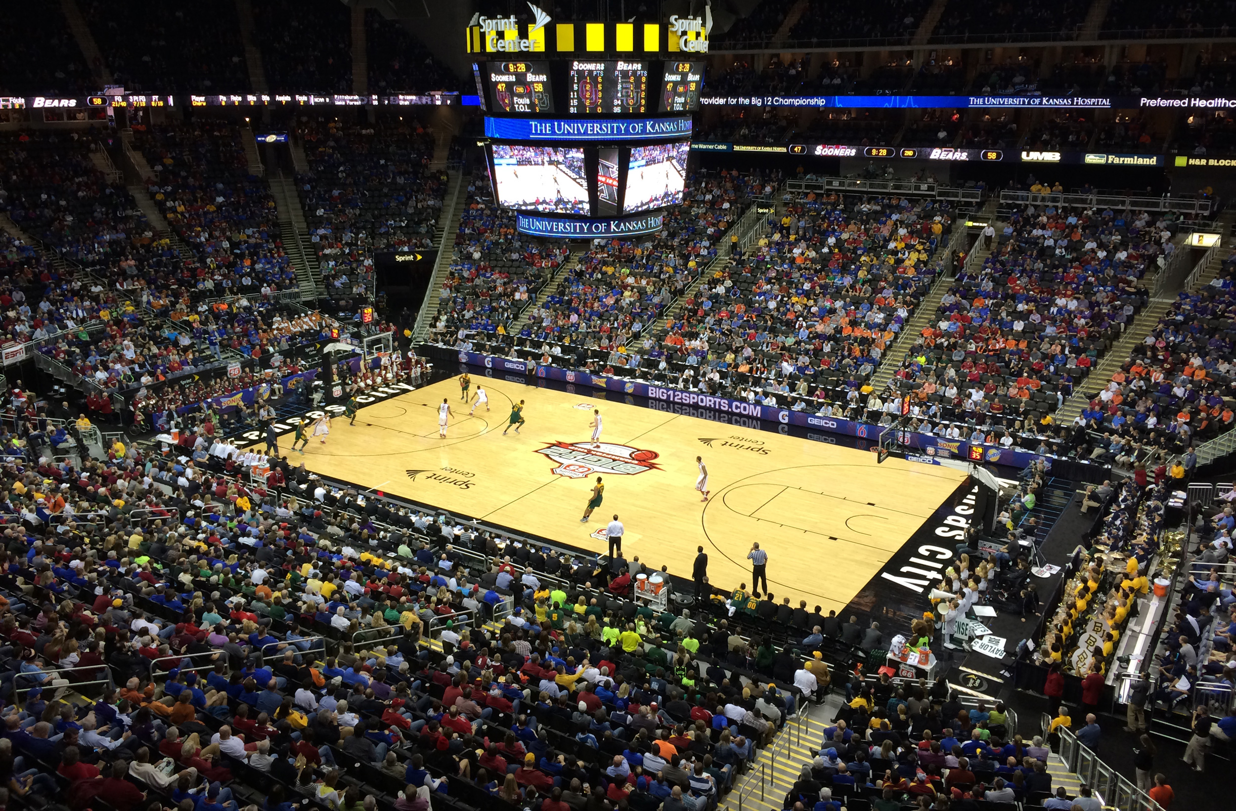 Big 12 Championship Sprint Center