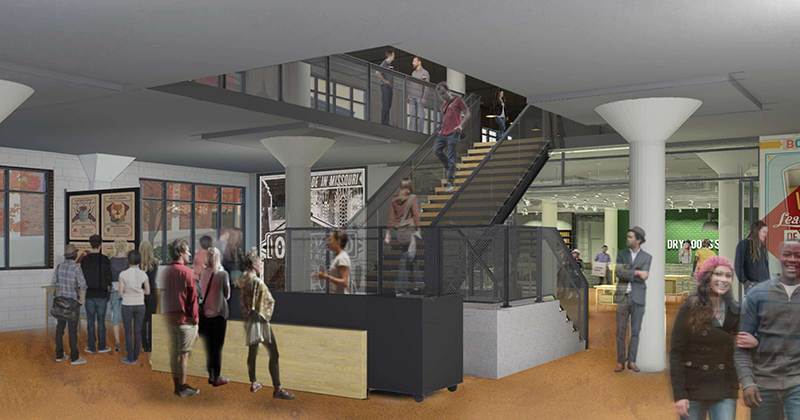 Boulevard Brewery Visitors Center Rendering