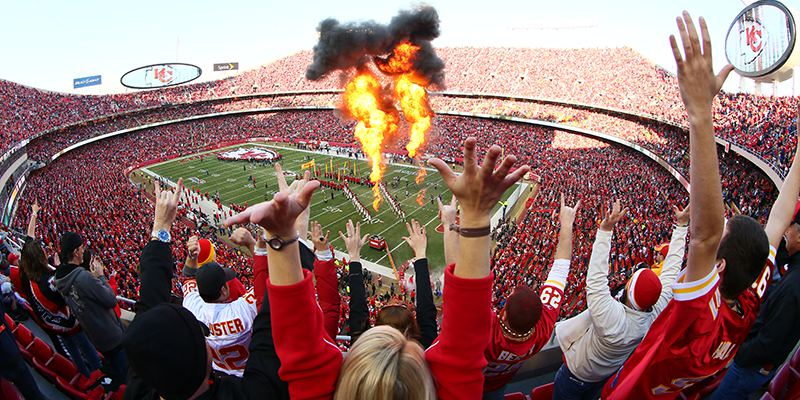 Kansas City Chiefs Game - Arrowhead Stadium