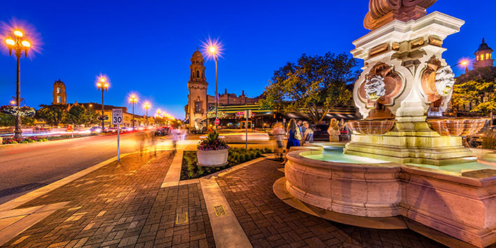 Country Club Plaza in Kansas City