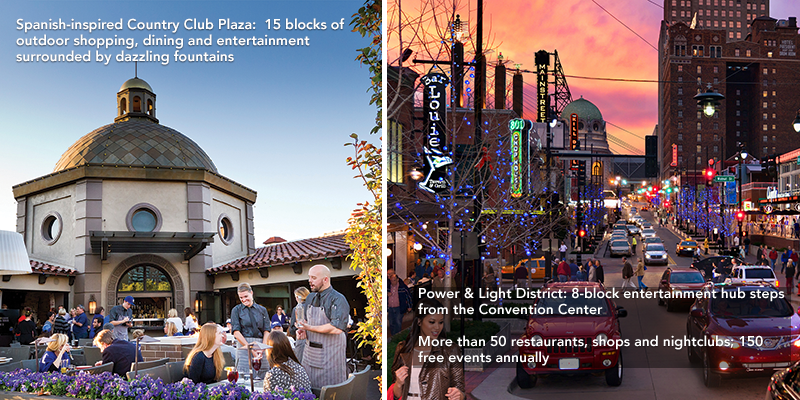 Entertainment Header - Country Club Plaza and KC Power & Light