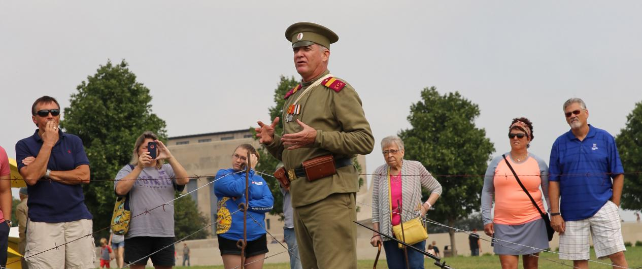 Living History at World War I Museum