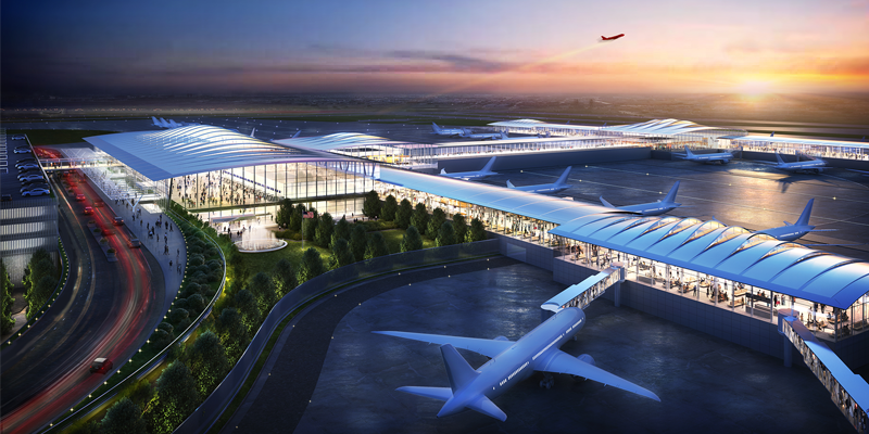 New KCI Airport rendering