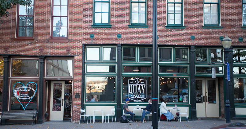 Quay Coffee in River Market, Kansas City