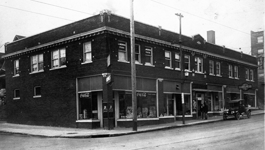 Original building of Laugh-O-Gram Studios