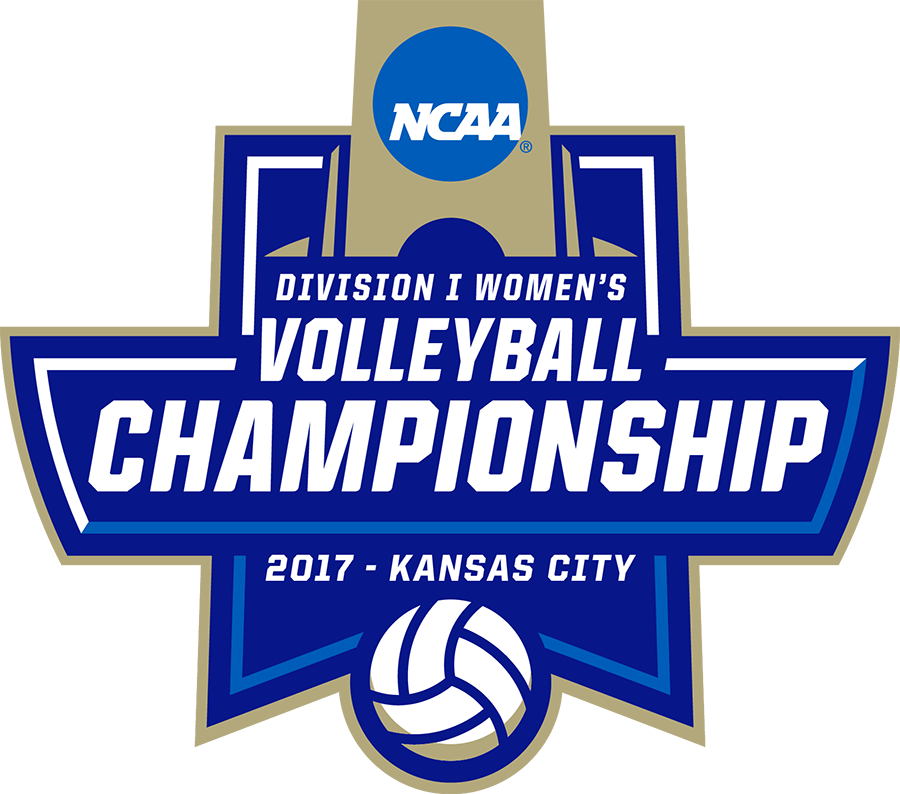 NCAA DI Volleyball Logo in Kansas City