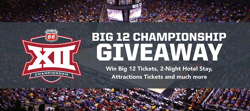 Big 12 Championship Giveaway | Visit KC