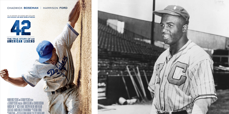 Jackie Robinson on the Kansas City Monarchs