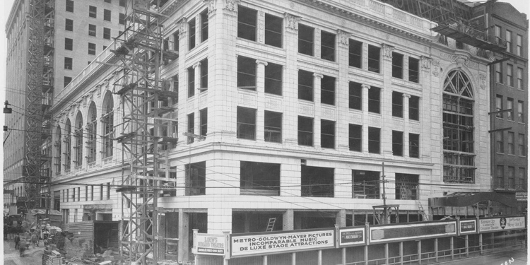 Midland Theatre Under Construction in 1926