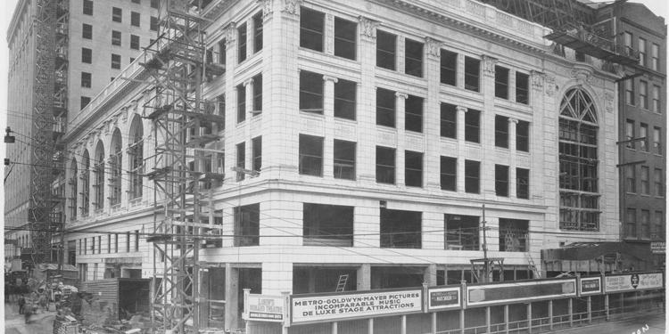 Midland Theatre Under Construction in 1926