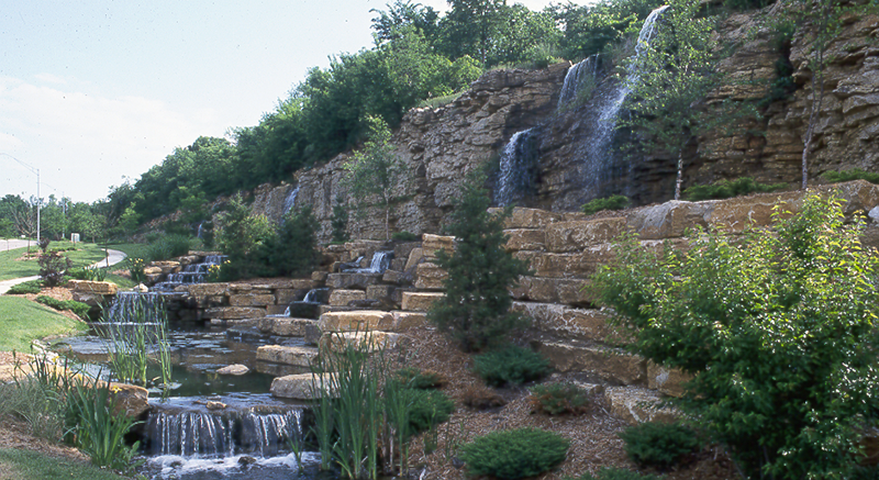 Olathe Water Falls Cedar Creek