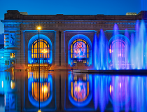 Union Station in Kansas City by David Arbogast