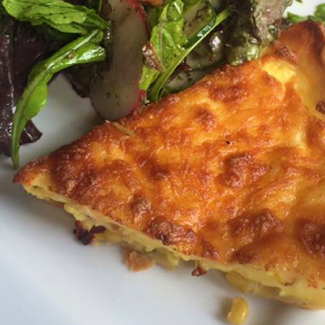 Quiche from the Farmhouse in River Market