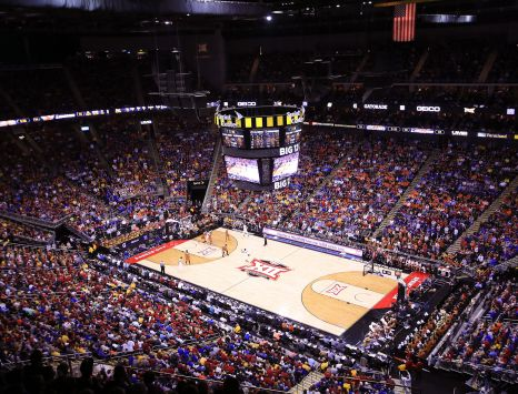 Big 12 Sprint Center Court