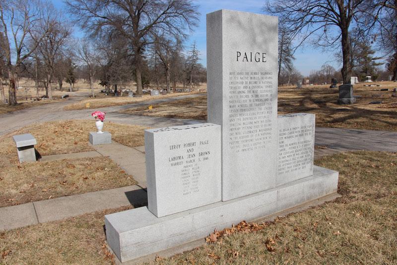Satchel Paige Grave