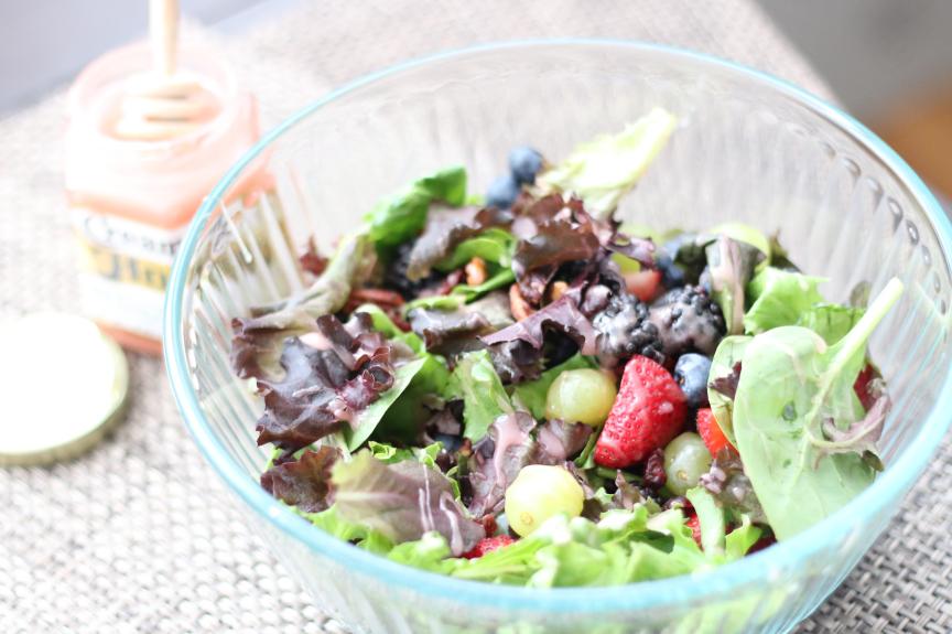 Strawberry Honey Salad