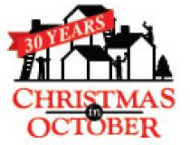 Christmas in October Logo