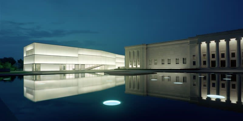Small-Format Aerial Photography : The Nelson-Atkins Museum of Art