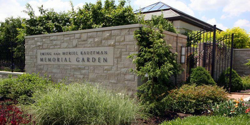 Ewing and Muriel Kauffman Memorial Garden Visit KC