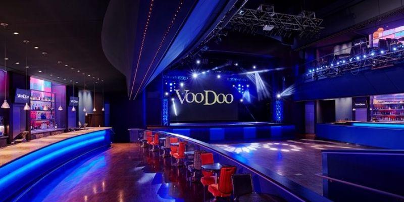 Voodoo lounge at harrahs casino hotels near presque isle casino