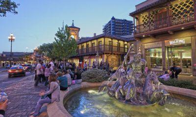 Neptune Fountain - Country Club Plaza, Kansas City