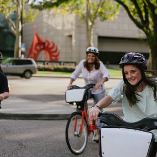 Crown Center Biking