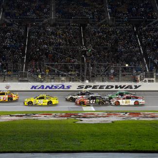 Kansas Speedway in Kansas City, KS