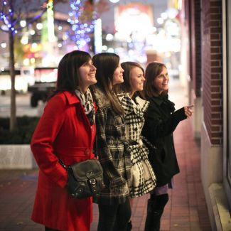 Holiday Shopping - Power & Light District