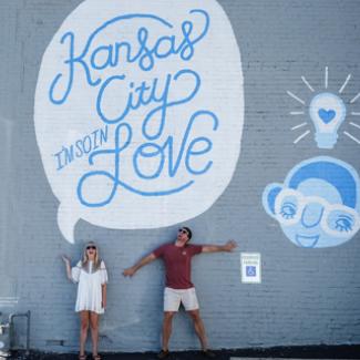 Kansas City I'm So In Love - Mural