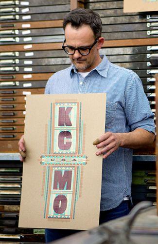 Hammerpress KCMO print
