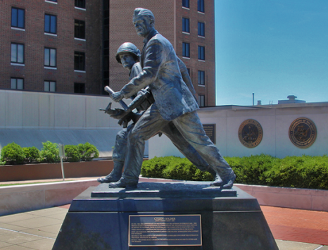 Veterans of Foreign Wars National Headquarters Citizen Soldier Statue