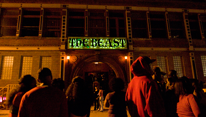 The Beast Haunted House in Kansas City's West Bottoms